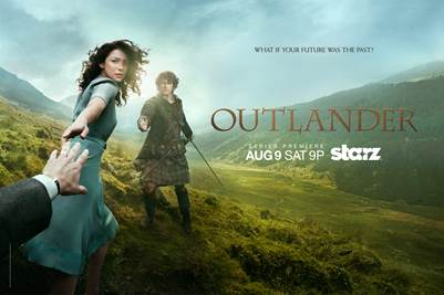 'Outlander' opening title sequence